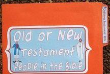 Bible: Lapbooks & FFG, Books, Foldables, Etc