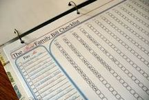Organization and Helpful Tips / by Megan Freda