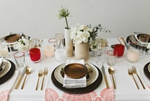 Table settings / by The Lovely Nest
