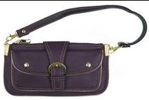 Purple Purses, Bags, and, Luggage