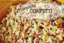 Salads of All Sorts / Sweet & Savory Salads. Fruit salad to pasta, potato & chicken salad ideas