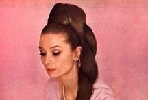 Think Pink / 'I believe in pink' Audrey Hepburn / by Catherine Hollens