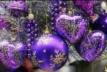 A Purple Christmas / Get great ideas for purple Christmas decorations and celebrations here! / by The Purple Store
