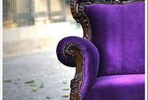 Purple Furniture / Purple furniture for the dedicated purple fan!