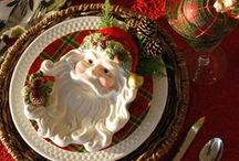 Christmas Tablesettings / by Suzie Suchman