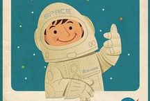 Baby Nursery :: Space, Moon, Stars