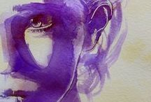 Purple Art, Ink, and Inspiration! / Ranging from Digital Art to Tattoos; We just LOVE purple!