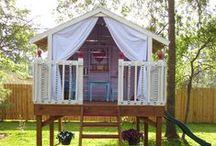Backyard Forts, Playhouses & Treehouses