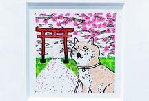 Doodles and Doodlers / #doodle #doodles #kawaii #cute #adorable #illustration #illustrator #dessin #manga #anime #drawing #sketchbook #copicmarkers