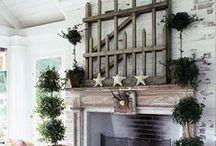 Home Decor - Mantels & Displays / by Peggie Sue Jackson