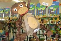 Jungle Theme Classroom / by Dawn Solomon