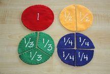Homeschool Fractions / by Jessica Neff