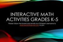 Interactive Math Activities (Grades K-5) / This board is for ideas and activities that can be used with aMath Interactive Notebooks in the Elementary Classroom.  Email me at shari.beck25@gmail.com if you would like to join.