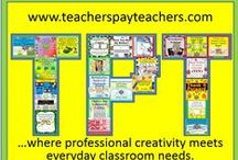 A Taste of Teachers Pay Teachers / This board will collect pins for TPT stores, blogs, products, and other social media links to give teachers an overview of what Teachers Pay Teachers has to offer.  TPT is more than just a place to find great free and paid resources for the classroom.  TPT is also a great place for finding networks of teachers than can help you grow professionally through blogs, social networking, and a wealth of resources.