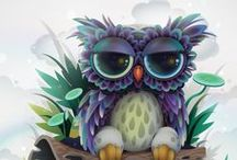 OWLS / Owls  / by Michelle Mulvehill
