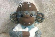 Monkey Bizz ~ SoCk MoNkEyS / by Dawn Solomon