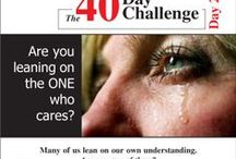 The 40-Day Challenge / Growing closer to God