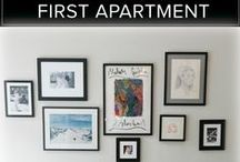 For the APT / First apartment after college. / by Haley Ashenbrener