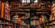 Moodboard De biblioteca / l'ambiance du roman De Biblioteca... en images