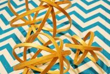 crafts / Easy heart garland