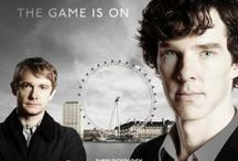 That Sherlock! / Love this series. Love Benedict and Martin! Best writers! / by Karen Smith