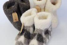 Schapenwollen pantoffels / schapen wollen pantoffels