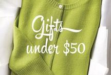 Gifts Under $50 / Who says great holiday gifts have to be expensive? Share the presents under $50 that would make your holiday special. Pin your wish list for a chance to win a $1000 shopping spree! Here's how: 1) Follow us on Pinterest. 2) Create a board of your holiday wishes. 3) Use our Pinterest boards for inspiration. 4) Re-pin at least 3 of your favorite gifts from Bon-Ton. 5) Submit a link to your pin here: http://www.bonton.com/8weeksofwishes 6) Cross your fingers! #8WeeksofWishes / by Bon-Ton