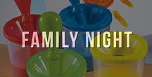 Family Night / Family nights are the best nights. Go all in with these pin-worthy activities, most-loved games and yummy (and easy!) recipes to make your next family night one to remember.
