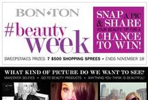 #BeautyWeek / Beauty at any age! We know how important it is for you to be up to date on the latest and greatest beauty products.  Here are a few of our faves we think you'll love! / by Bon-Ton