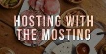 Hosting with the Mosting / Our collection of crowd-pleasing entertaining essentials, party inspiration, DIY tricks and more to help you become the hostess with the mostest no matter the occasion!