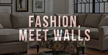 Fashion, Meet Walls / You dress yourself beautifully...Don't forget to do the same to your walls. Our picks for artwork for your home, office, or anywhere that needs sprucing up.