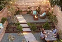 Roof + Garden / Roof-top outdoor living spaces
