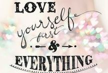 Self Love / Healing and transformation begins with genuine, unconditional, self love!