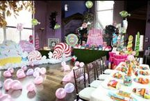 Party! Candy or Candyland / Decorations for a candy theme party / by Linda Smik