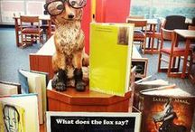 Library: Displays & Bulletin Boards / Ideas for library displays and bulletin boards / by Linda Smik