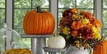 Thanksgiving Traditions & Harvest Decor / Gather 'round the table for food, fun and traditions, new and old.