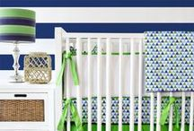 Striped Nursery / Stripes in the #nursery are so fun! @CadenLane