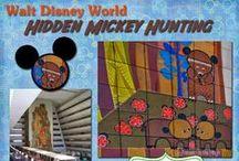 Hidden Mickey Group Board / Hidden Mickey's we have found in and around Walt Disney World.