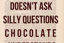 Chocolate and Coffee, Who could ask for anything more? / Coffee and Chocolate, two of my favorite things!