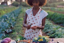 Fruit Veggies & Drinks / A farmer gathers fruits and vegetables in the season of harvest. I hope you will be inspired as I have to make a great recipe pop and a yummy fresh fruity drink to refresh and enjoy the fruits of your labor. / by Casandra McCottrell