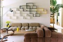 Pièces à vivre * Living spaces / by A part ça ...