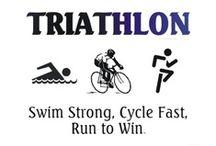 Exercise - Triathlon stuff / by Connie Carmony