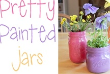 Glassware Crafts / by Betty C