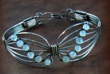 Wireworked Bracelets/Cuffs / by Betty C
