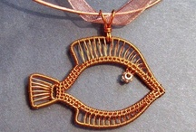 Wire (Mostly) Pendants / by Betty C
