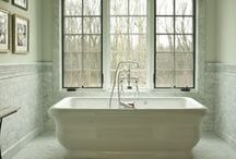 Bathrooms, tiles, showers ... / by M Gail Berry