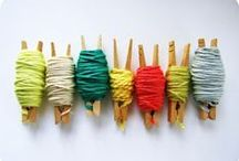 Knitting Stash Busters / Knitting ideas to make good use out of leftover yarn in your stash!