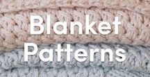 Blanket Knitting Patterns / A beautiful selection of knitted blanket patterns to keep your needles busy! Whether you want to knit a winter blanket, a baby blanket, or even a decorative throw blanket, LoveKnitting has got you covered!