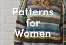 Knitting Patterns for Women / Lots of inspiration, patterns and ideas on knitted fashion for women. Find your favorite cardigan, sweater, or scarf- trendy knitted clothing perfect for any time of year!