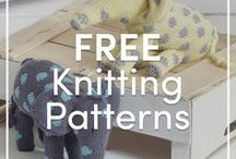 Free Knitting Patterns / A collection of free knitting patterns for you to try your needles and hooks at! Browse through beginner, intermediate, and advanced level patterns.